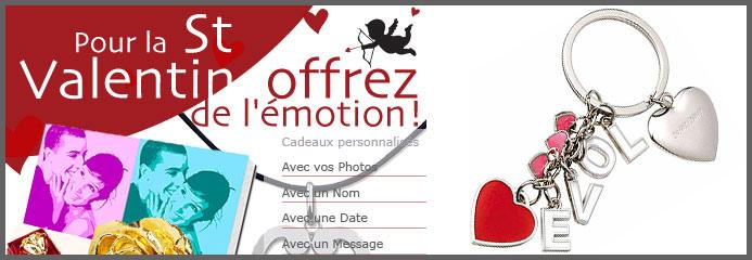 Les id es cadeaux pour la st valentin de - Idees cadeaux saint valentin pour les romantiques ...