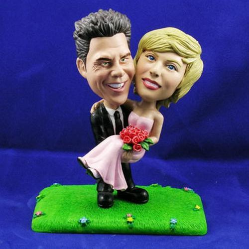 Cadeau pour tous, couple personnages 1 mini face