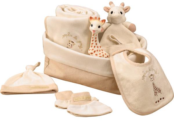 Cadeau pour tous, sophie-girafe, cadeau naissance, bébé