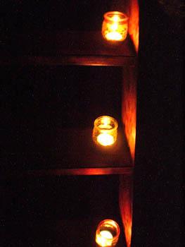 cadeau pour tous, chasse aux trésors, bougies escalier