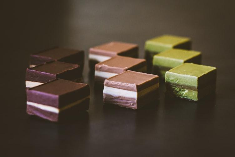 boite de chocolat coffret