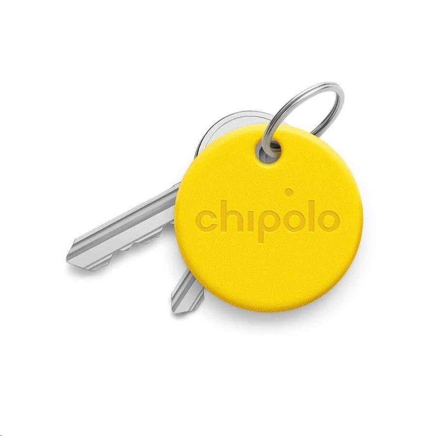 porte clés connecté jaune