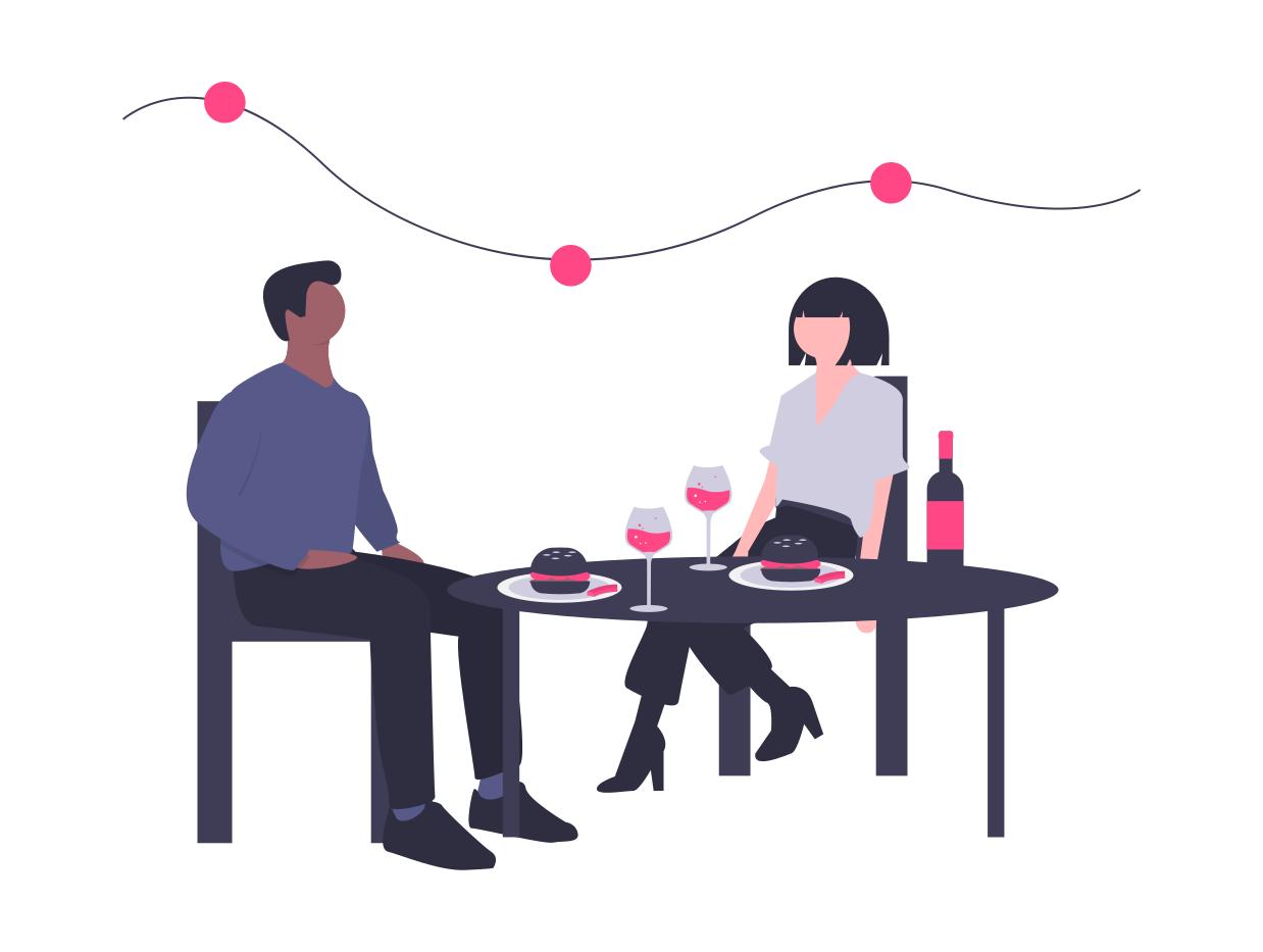 Cadeau pour tous, ce que veulent les femmes, restaurant, diner, romantique